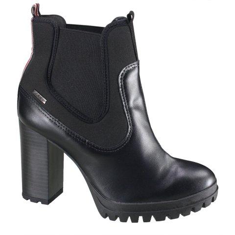 3c1d97c397 Bota Dakota Ankle Boot Feminina G1271 0002 - Preto Cru Vermelho  (Wellen Neoprene - Botas Online Femininas