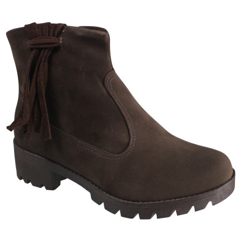 e0954e9bb Bota Feminina Ankle Boot Mississipi X4901 - Café (Wolford) - Botas Online  Femininas, Masculinas e Infantis | Mundodasbotas.com.br