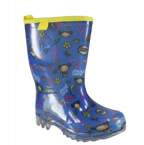 740e2998a98 Bota Infantil Sete Léguas Pucca 4129683 - Amarelo Azul - Botas Online  Femininas