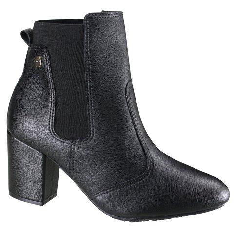 9588a31a7a Bota Modare Ultraconforto Ankle Boot Feminina 7063.103 17713 15787 - Preto  (Napa Genova) - Botas Online Femininas