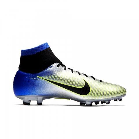 2380b43c79 Chuteira Mercurial Victory VI DF Neymar Junior FG Nike 921506-407 -  Prata Azul - Botas Online Femininas
