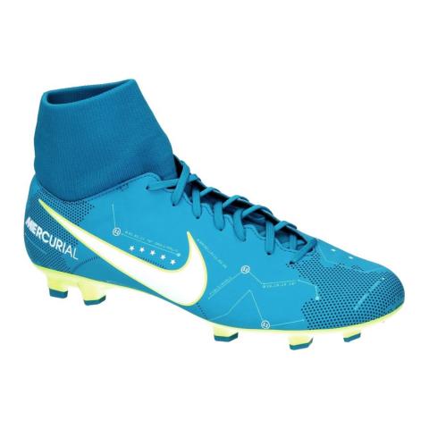 909b6669b Chuteira Mercurial Victory VI DF Neymar Junior FG Nike 921506-400 -  Azul Verde Limão - Botas Online Femininas