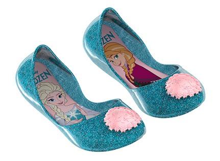 406dac7e49 Sapatilha Infantil Frozen Love Grendene 21515-52693 - Azul Gliter Rosa -  Botas Online Femininas