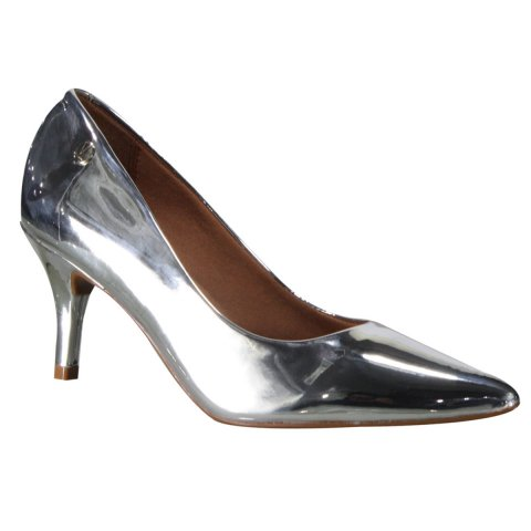 c857a9e70 Sapato Scarpin Vizzano 1185.102 11808 00041 - Prata (Metal Glamour) - Botas  Online Femininas, Masculinas e Infantis | Mundodasbotas.com.br