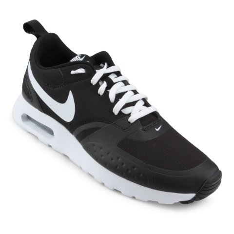 4c74d02909a4a Tênis Masculino Nike Air Max Vision 918230-007 - Preto Branco - Botas  Online Femininas