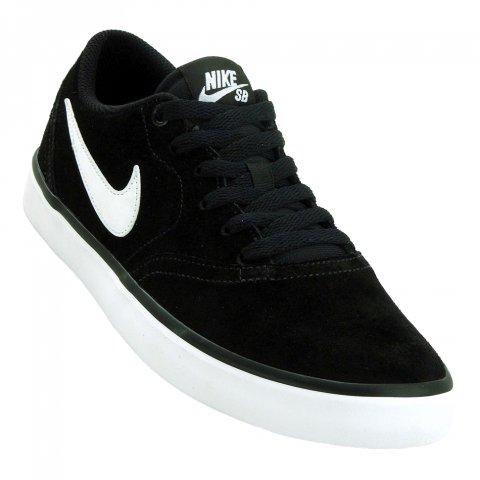 18c0945c17 Tênis Nike SB Check Solar Masculino 843895-001 - Preto Branco - Botas  Online Femininas