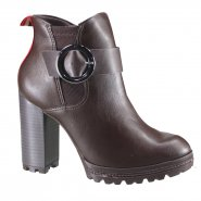 c551bea8b Botas - Ramarim - Modelo: Ankle Boot - Modelo de Salto: Salto ...