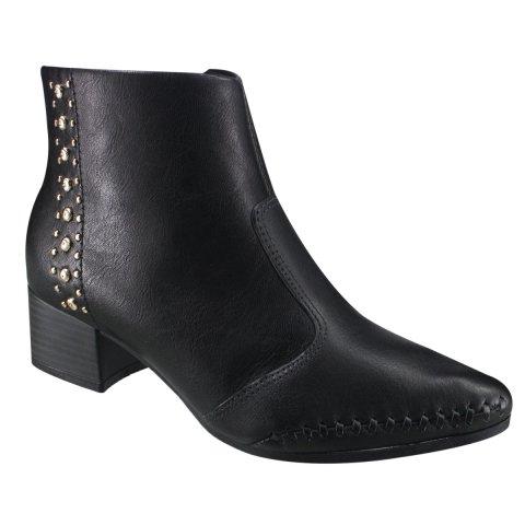 Bota Ankle Boot Ramarim Total Comfort 17-57106 000004 ...