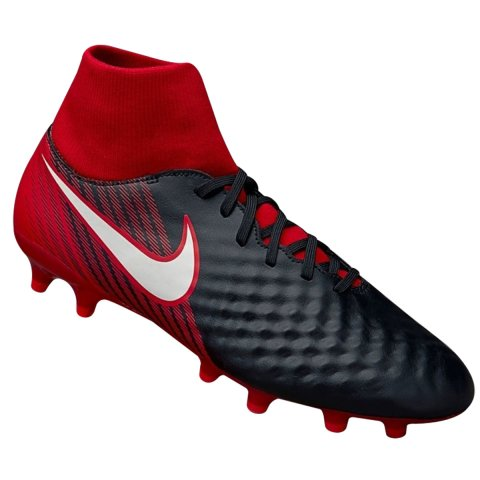 Chuteira Campo Nike Magista Onda II DF FG 917787-061 - Vermelho ... fbec595bf170d