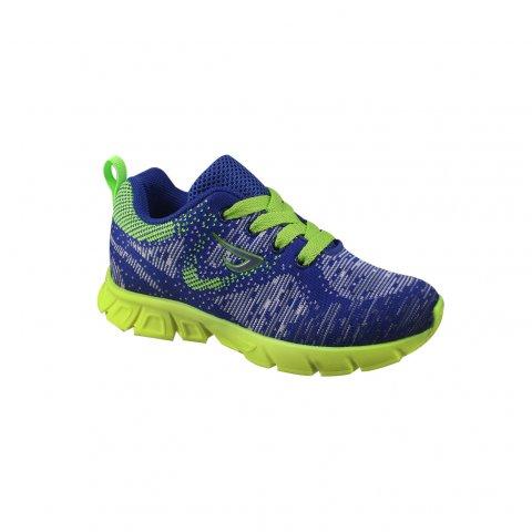 70118e1b087 Tênis Ortope New Jogging Infantil 2137026 - Royal Limão - Botas ...