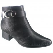 1d962dd1e6 Bota Ramarim Total Comfort Ankle Boot 18-58105 000002 - Preto ...
