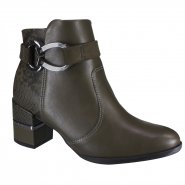Bota Comfortlex Ankle Boot Feminina