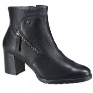 0ab6bc333fb Bota Cravo e Canela Ankle Boot Feminina