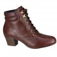 Bota Modare Ultraconforto Ankle Boot Feminina