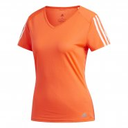Camiseta Feminina Adidas Running 3-Stripes