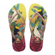 Chinelo Slim Havaianas Tropical