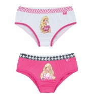 Kit C/2 Calcinhas Lupo Barbie Infantil