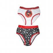 27052ec6b Kit C 2 Calcinhas Lupo Minnie Infantil 236-88-908 - Branco Vermelho ...