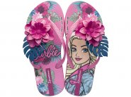 Sandália Infantil Grendene Ipanema Barbie Tropical