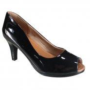 e6a60dccc Sapato Feminino Usaflex Peep Toe
