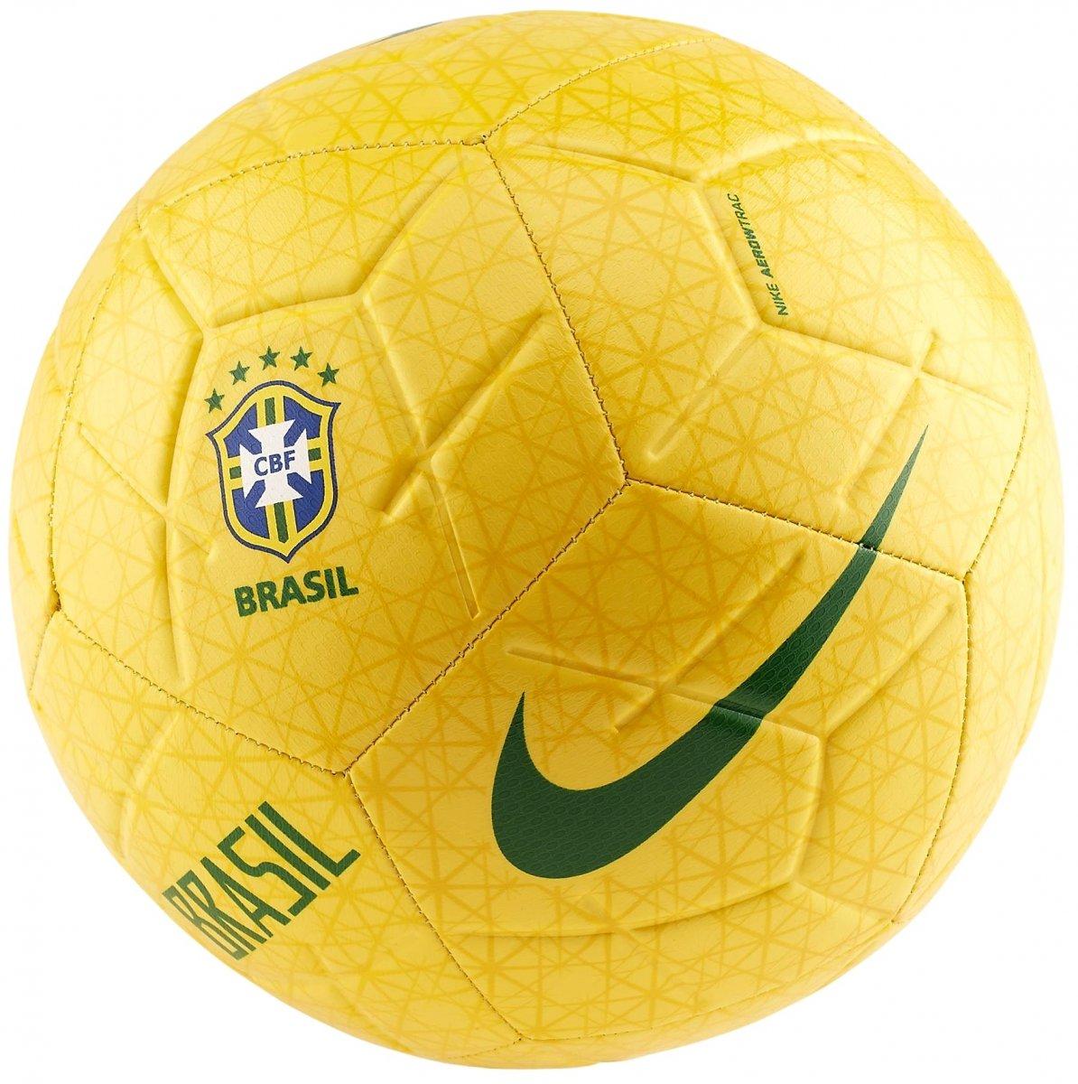Mira Colgar Minero  Bola Campo Nike Brasil Strike SC3922-749 - Amarelo/Verde - Botas Online  Femininas, Masculinas e Infantis   Mundodasbotas.com.br