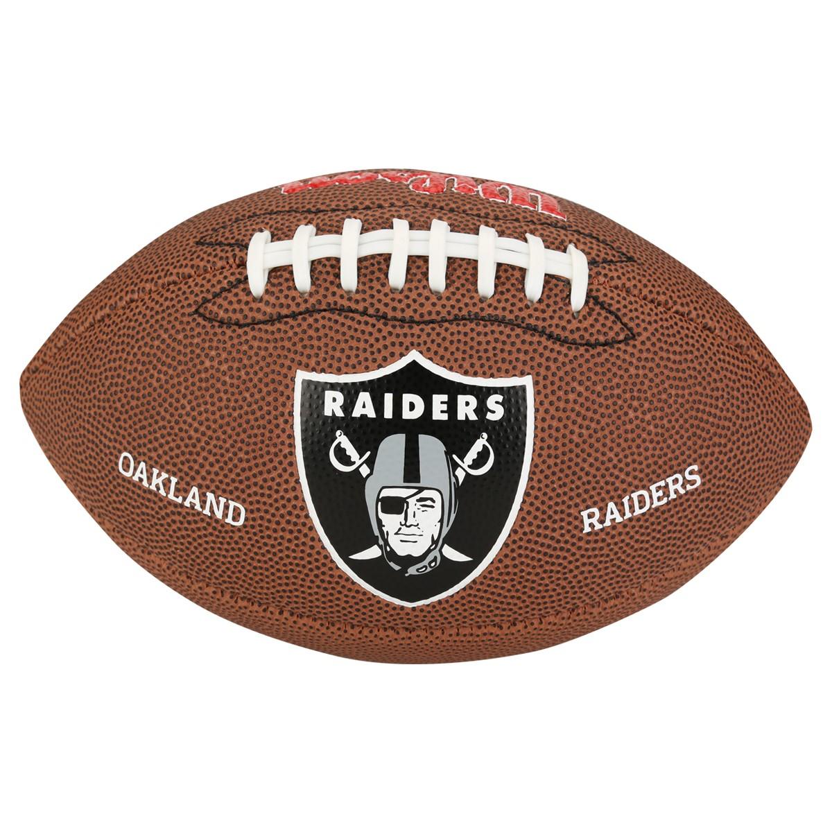 ... Bola de Futebol Americano Wilson Oakland Raiders. Passe o mouse para ver  detalhes f60c66078fcfe