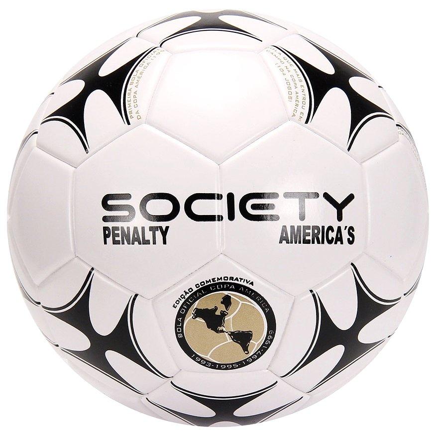 517ee3b45e6bb Bola F7 Society Penalty América s VIII 520301 1110 - Branco Preto ...