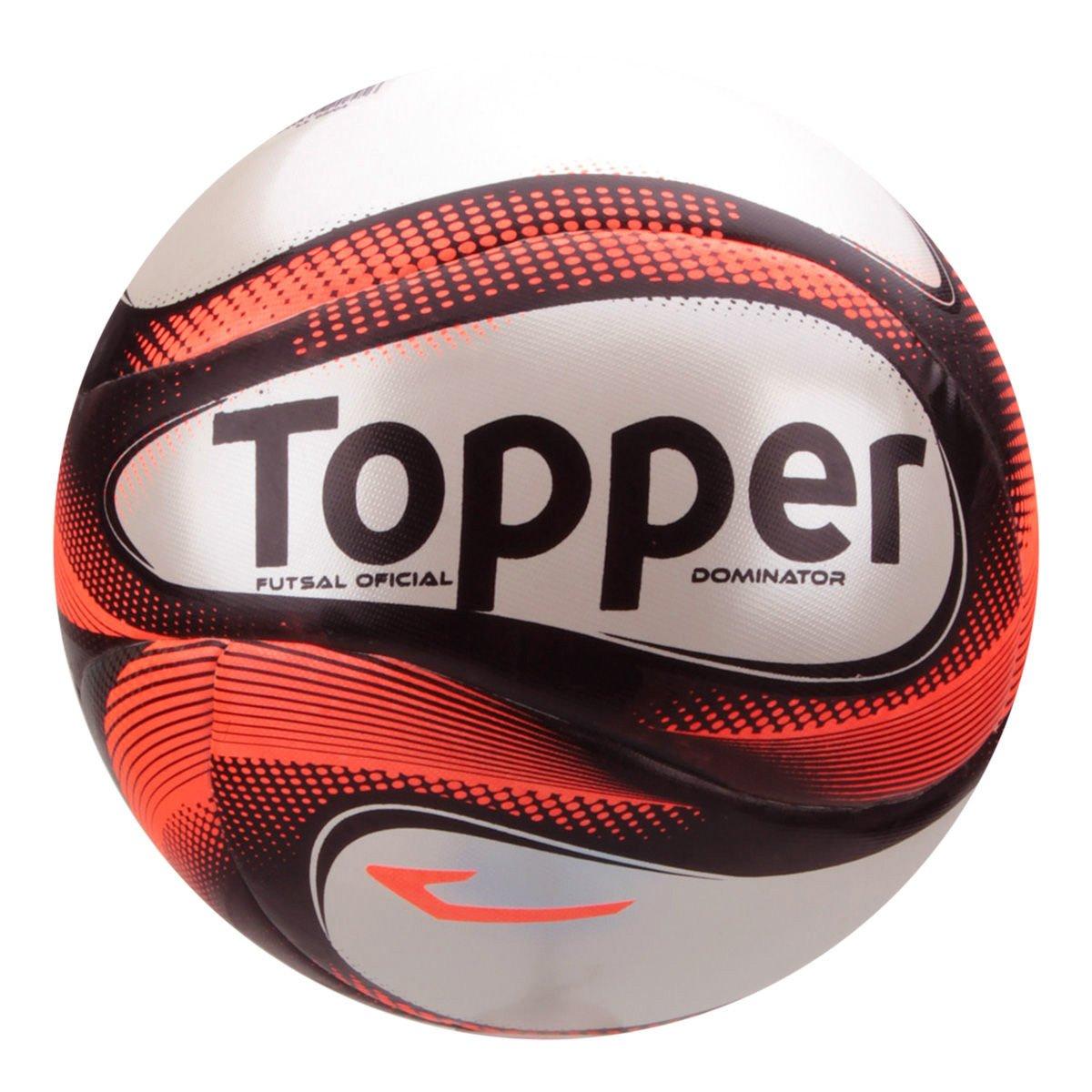 Bola Futsal Topper Dominator TD1 4200711 0014 - Coral Neo - Botas ... 21a162b600827