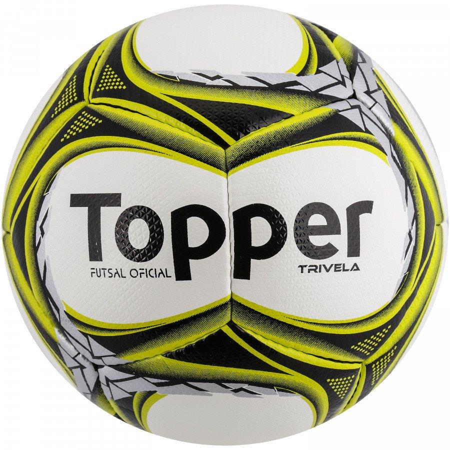 Passe o mouse para ver detalhes. Amplie a imagem. Bola Futsal Topper Trivela  ... e77a9cc17bbb6