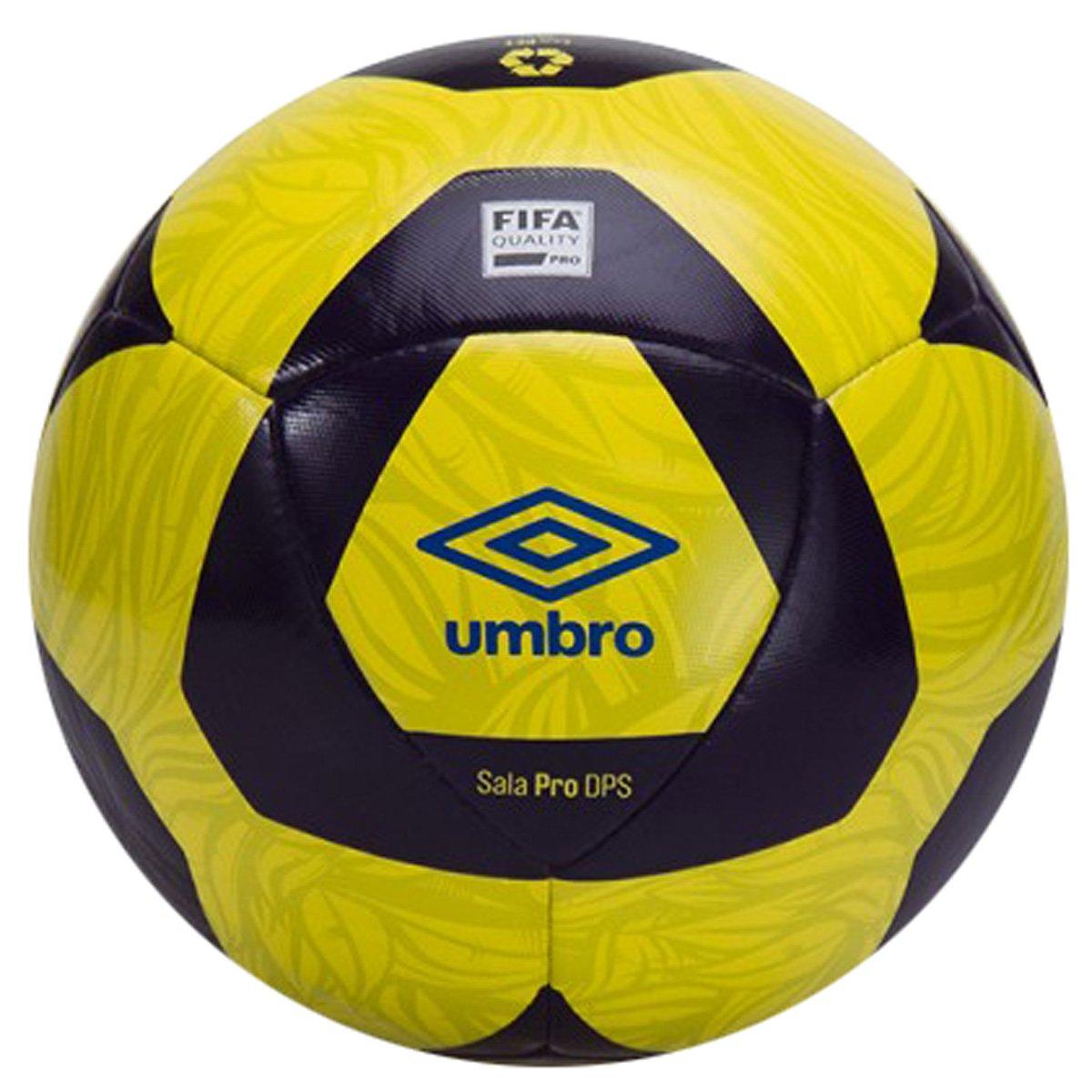89f0035a0b374 Bola Futsal Umbro Sala Pro 1P78020 037 - Amarelo Marinho - Botas ...
