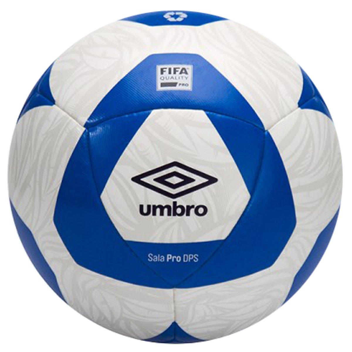 78b59e962eec4 Bola Futsal Umbro Sala Pro 1P8020 273 - Branco Azul - Botas Online ...