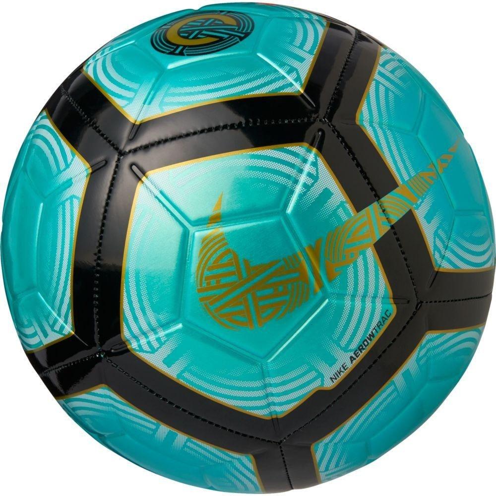 0d0c29f47a Bola Mercurial CR7 Strike Nike Campo SC3484-121 - Verde Preto ...