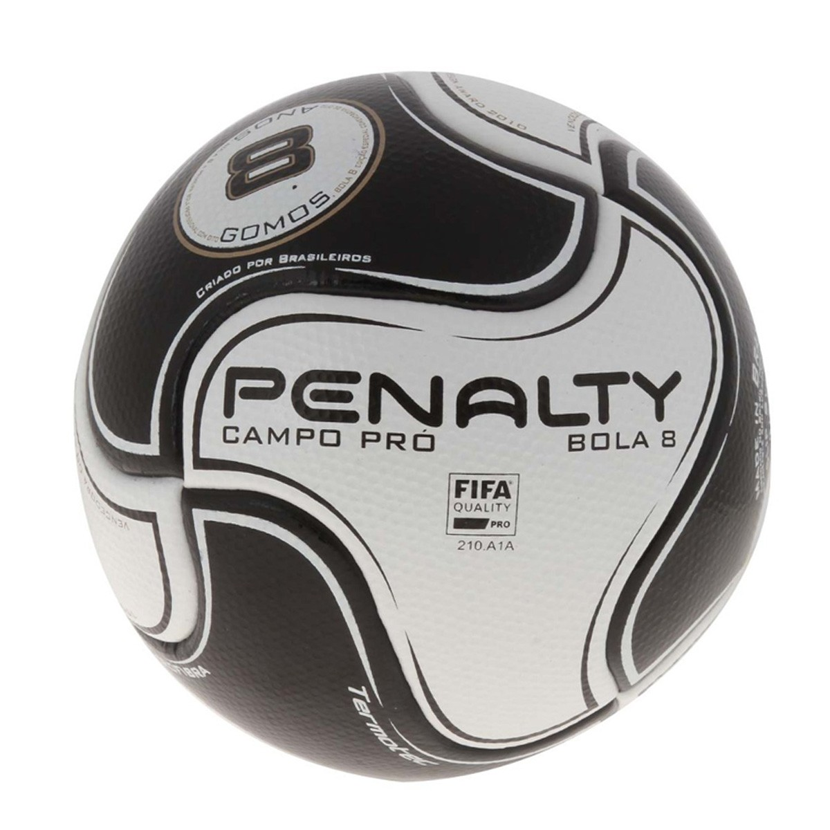 ce59b4a528 Bola S11 Pro VI Penalty Campo 541383-1110 - Branco Preto - Botas ...