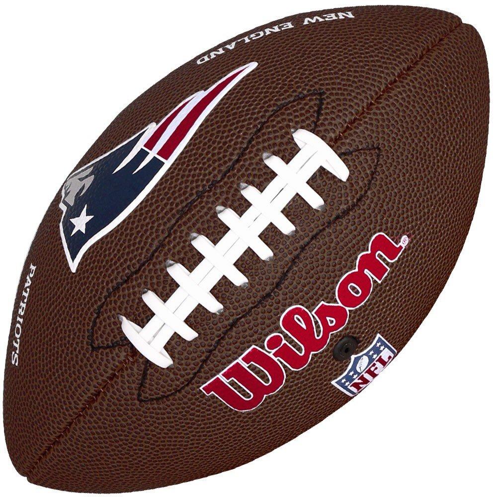 5bfee6948d Amplie a imagem. Bola Wilson Futebol Americano NFL New England Patriots   Bola ...