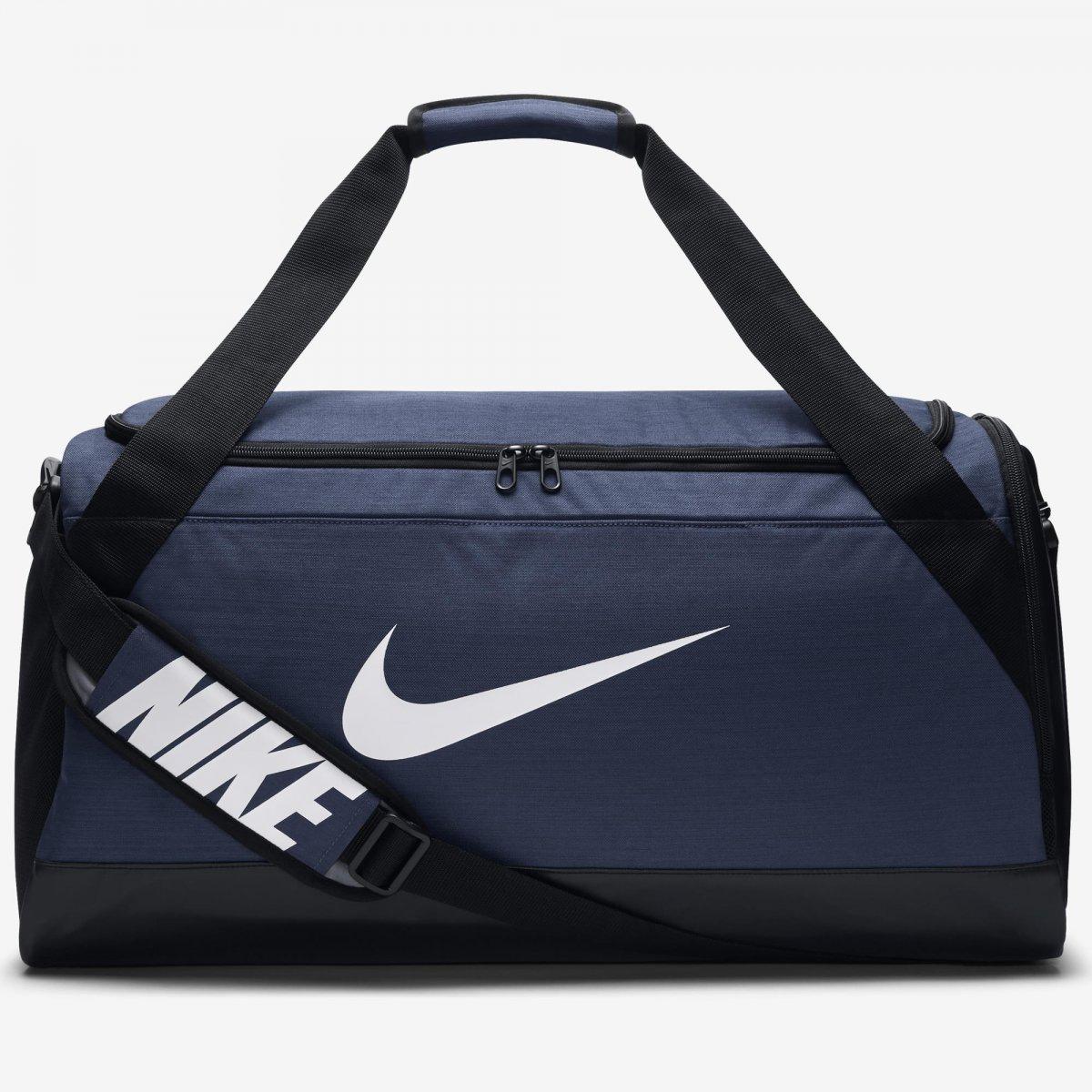 3761cfb39 Bolsa Esportiva Nike Brasilia Duffel Médium BA5334-410 - Marinho ...