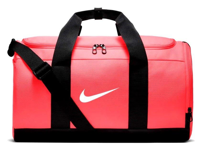 2233e96b0 Bolsa Esportiva Nike Team Duffle BA5797-850 - Coral/Preto - Botas ...
