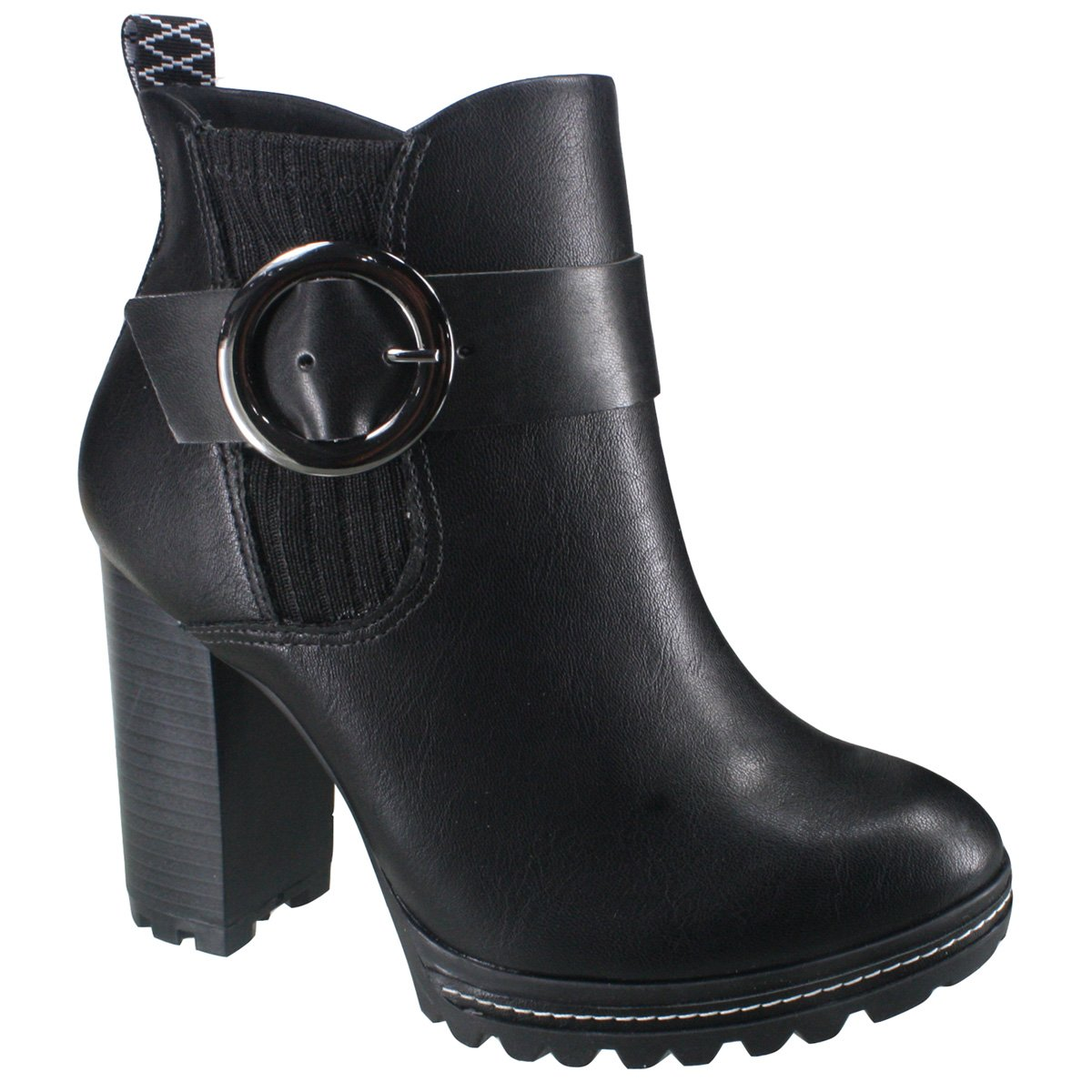 3930644a3 Bota Ankle Boot Ramarim 18-53101 000017 - Preto (Naturale Plus ...