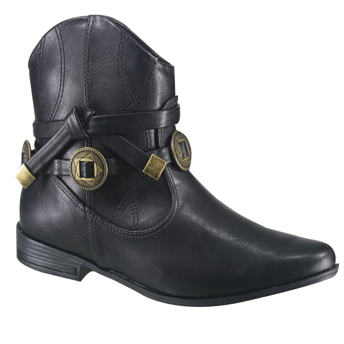 ccdee0d4d Bota Ankle Boot Ramarim 17-60102 000009 - Preto (Naturale Plus ...
