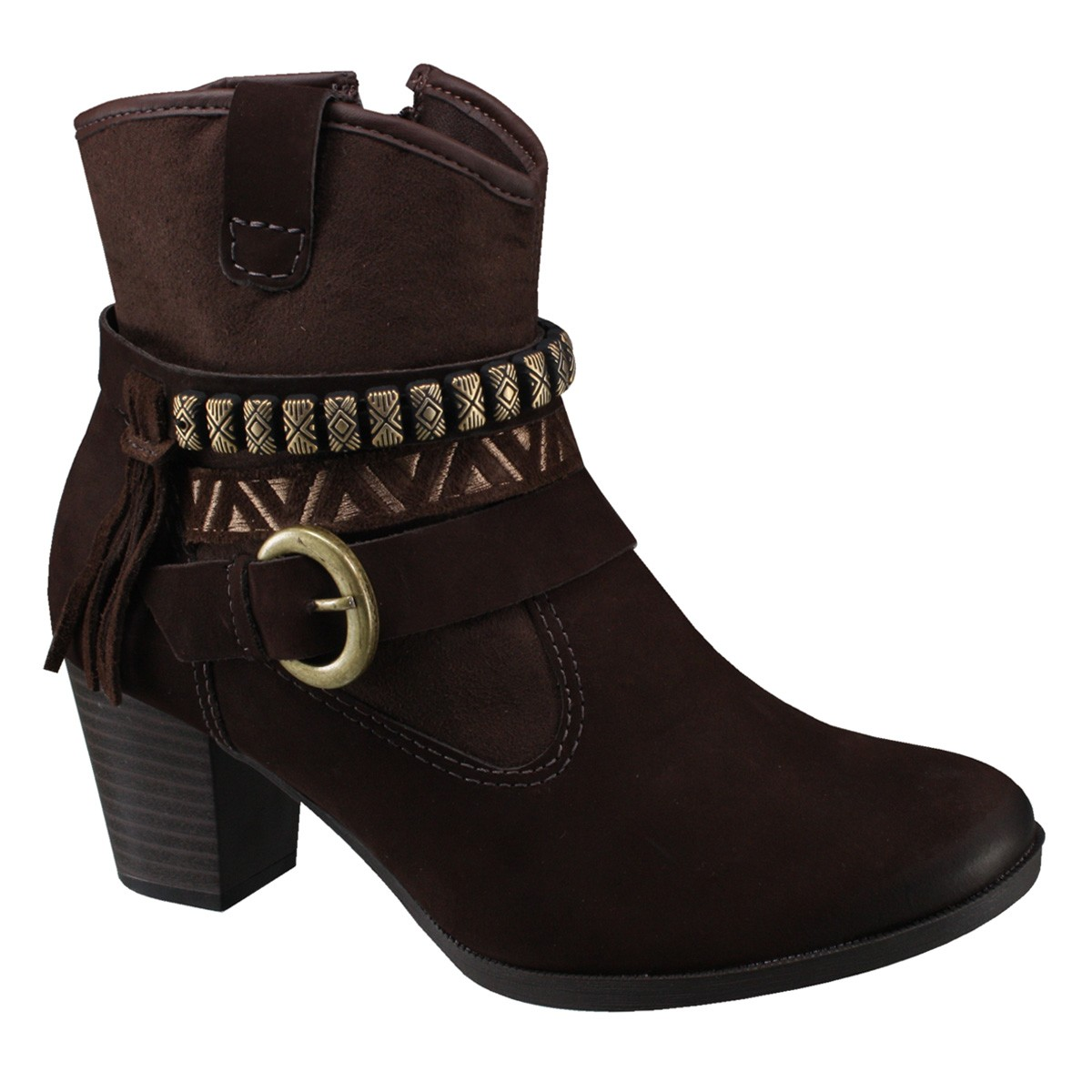 c4dc5805b7 Bota Dakota Ankle Boot B7961 - Chocolate (Indianopolis Nitra Camu ...
