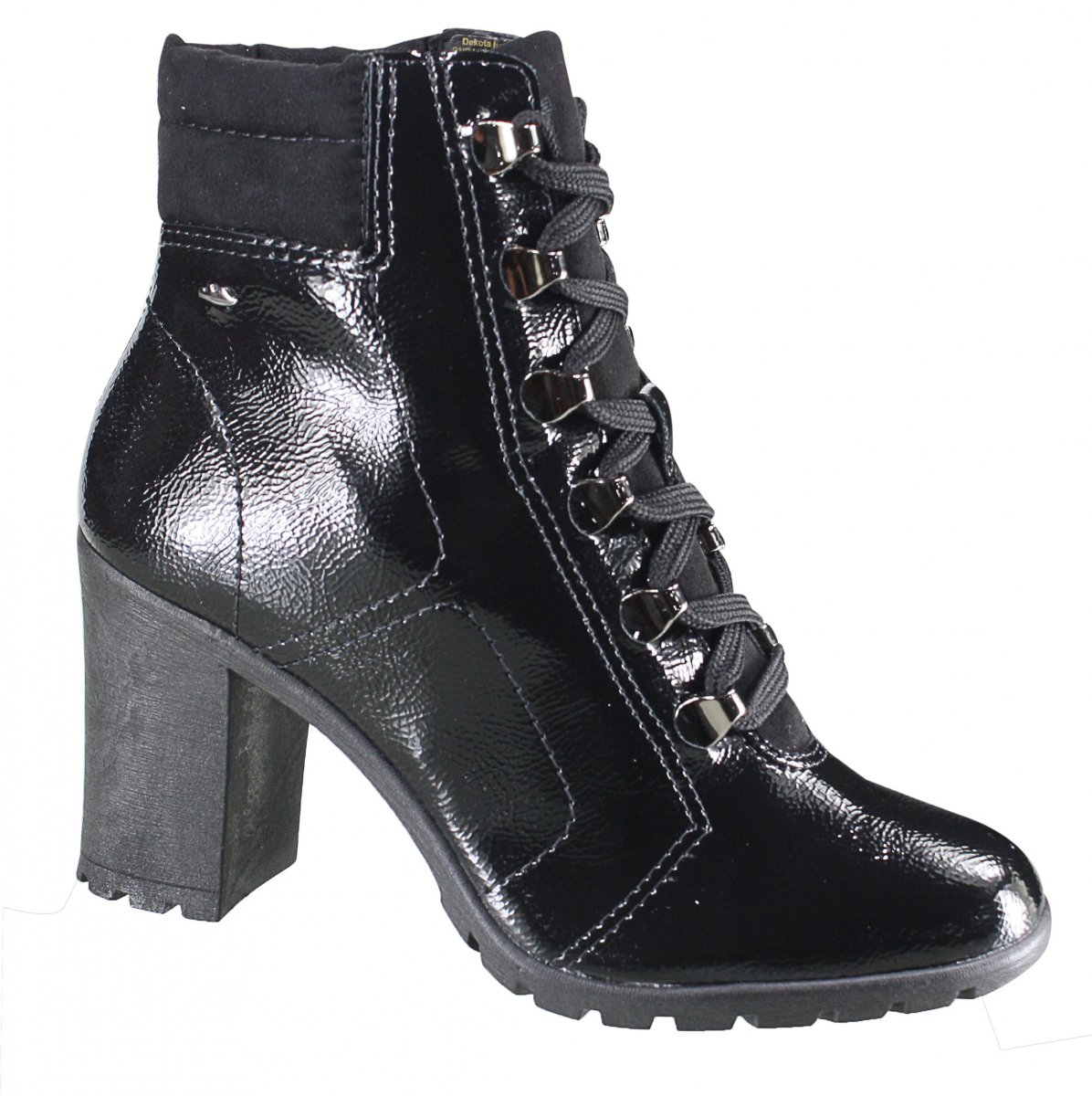 ea8c873c6 Bota Dakota Ankle Boot Feminina G1261 0009 - Preto (Follow/Nitra ...