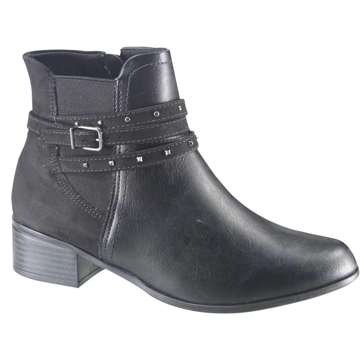 eb4e05fcb Amplie a imagem. Bota Feminina Ankle Boot Comfortflex; Bota Feminina Ankle  Boot Comfortflex 2; Bota Feminina ...