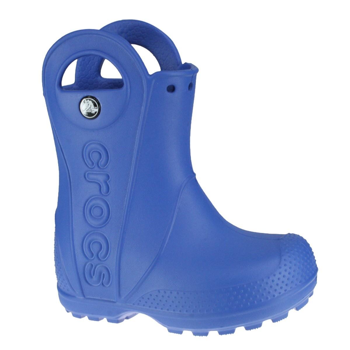 bc63be5c2c3 Bota Crocs Handle it Rain Infantil 12803 - Azul - Botas Online ...