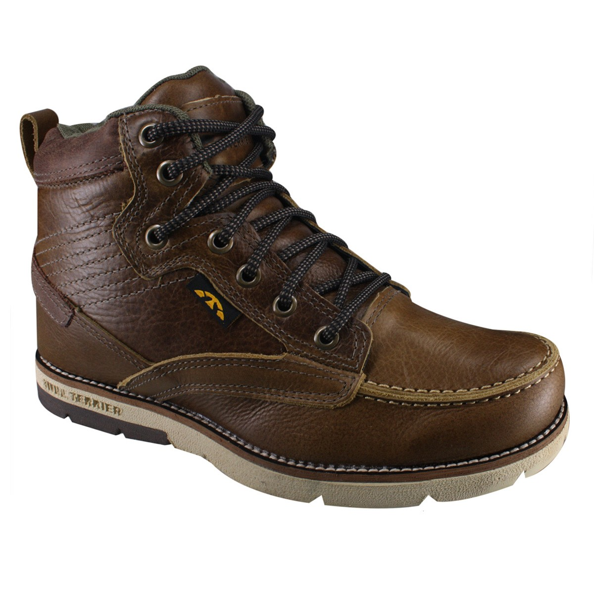 55b5f4373a COURO NATURAL 26% OFF. Bota Masculina Bull Terrier Chicago