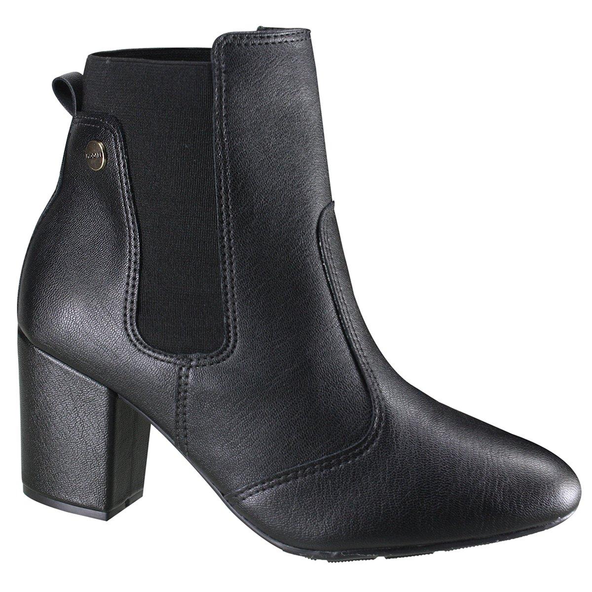 7e549f0fd3 Bota Modare Ultraconforto Ankle Boot Feminina 7063.103 17713 15787 ...