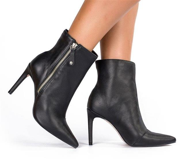eb249fcbe Bota Tanara Ankle Boot Feminina T2281 0002 - Preto (Scarssi) - Botas ...
