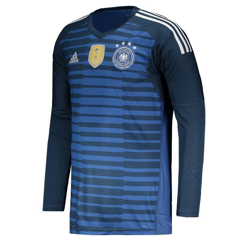 Amplie a imagem. Camisa de Goleiro Adidas Alemanha 2018  Camisa de Goleiro  Adidas Alemanha 2018  Camisa de ... a4eb49fc2e5e7