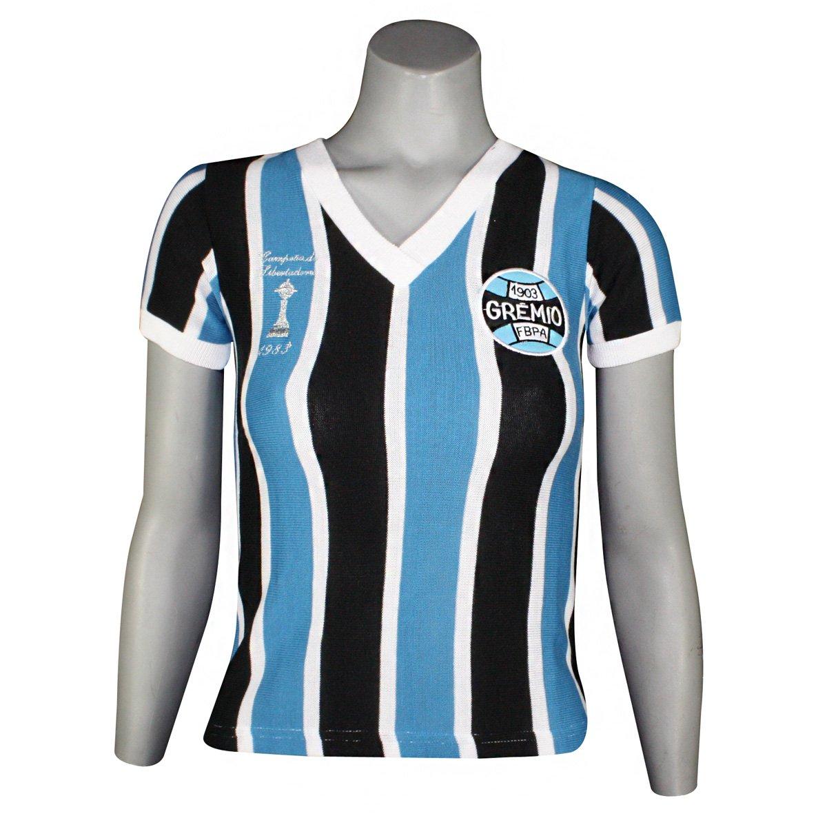 4bb16a774b Camisa Feminina Dilva Oldoni Grêmio Retro Renato Gaúcho