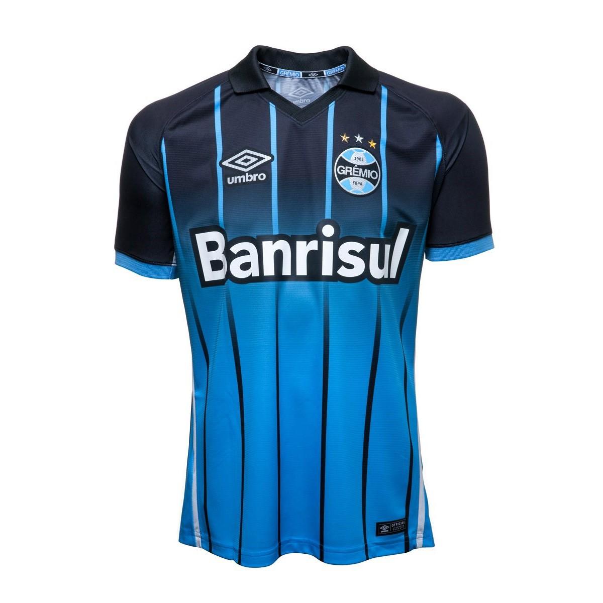 a3909ff431 Amplie a imagem. Camisa Junior Umbro Grêmio Oficial III 2016  Camisa Junior Umbro  Grêmio Oficial III 2016