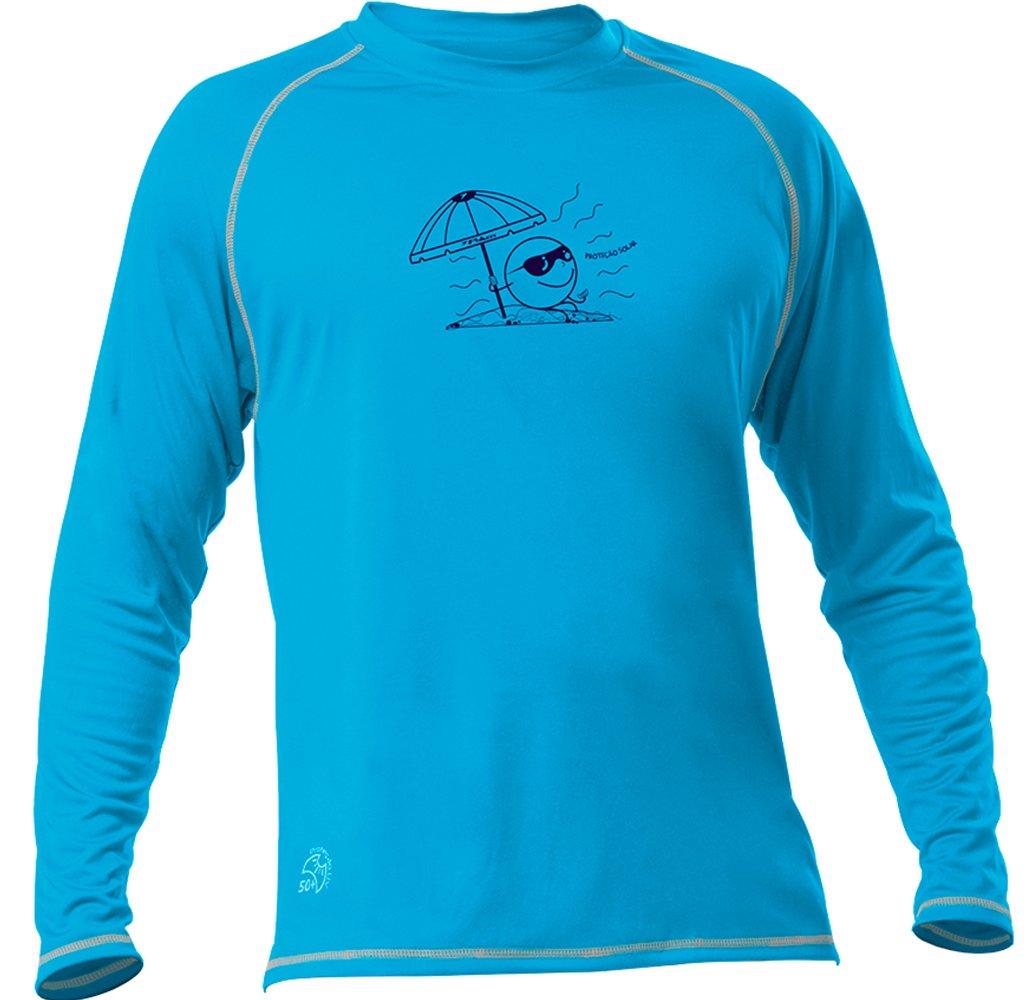 Amplie a imagem. Camisa Poker Infantil Proteção Solar UV50  Camisa Poker Infantil  Proteção Solar UV50 fdaedac7e2db3
