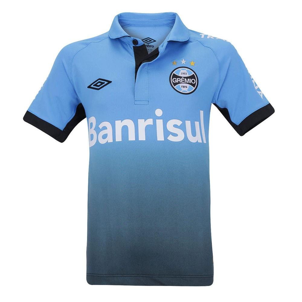 99c9fe20f7643 Passe o mouse para ver detalhes. Amplie a imagem. Camisa Umbro Grêmio  Juvenil Oficial 3 ...